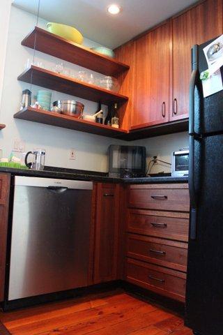 African Mahogany Kitchen Gresham Woodworks Kitchen Cabinets